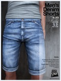 *Shai* Men's Denim Shorts - Blues