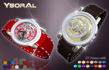 ~~ Ysoral ~~ .:Luxury watch MESH :.(27 metal and leather)