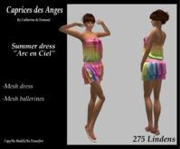 "*CdT* Summer Dress ""Arc en Ciel"""