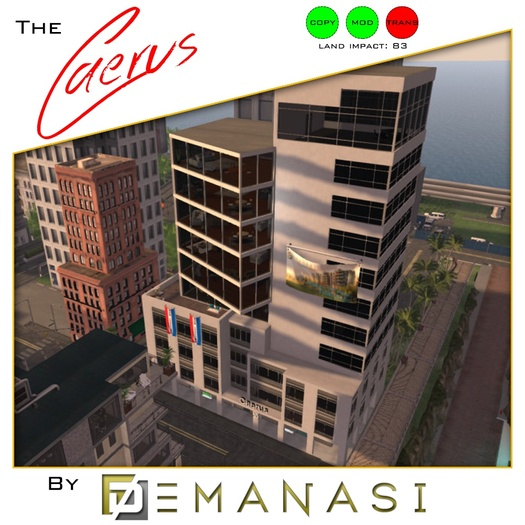 The Caerus by Demanasi - 100% Mesh