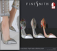 F I N E S M I T H - Love flowers shoes- 3 pairs