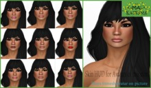 .^.:MA:.^.  HUD  skin Katrina DEMO (Work with all avatars of this store)