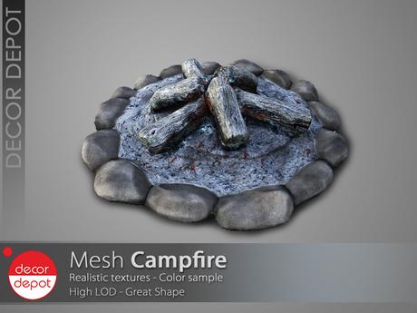 [DD] - FULL PERM  Campfire