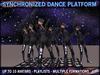 Synchronized Dance Platform system - up to 10 avatars
