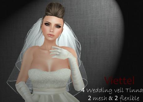 Viettel -  Wedding veil Tinna  ~ 8 Wedding veil | SALE 50%