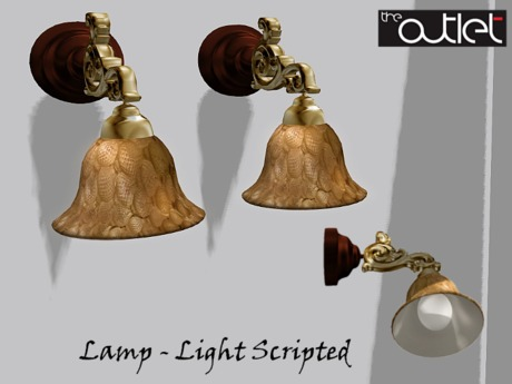 Outlet*-* Adnan Sconce (wall lamp)