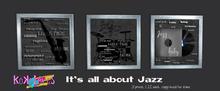 [Kokolores] It's all about Jazz - 3 Prints - wear me!