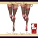 Banded fishnet socks inworld listing   pink break physique only