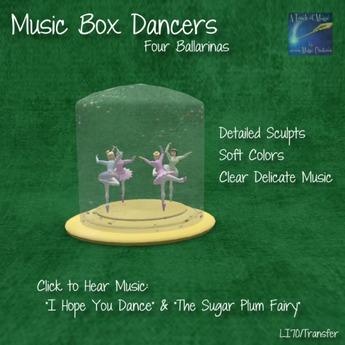 whimsicle Ballerina Music Box (Packaged)