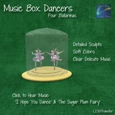 whimsicle Ballerina Music Box (Packaged)