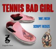 - Tennis Shoes Mesh - Bad Girl - Zeppelin Store -