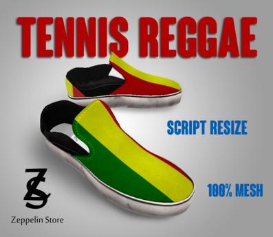 - Tennis Shoes Mesh - Reggae - Zeppelin Store - Alpha