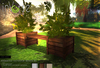 inVerse®_ ANIMATED OUTDOOR BENCH #1 *mesh*