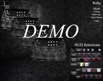 DE Designs - Ruby Skirt - DEMO
