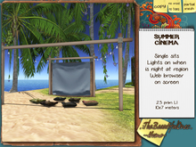 .:TBOHome:. Summer Cinema - set
