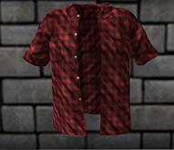 Man's Summer shirt red tm freeky