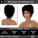 A&A Sonera Hair Midnight Pack (4 Colors Pack). Elegant womens updo